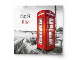 Nástěnný kalendář Black&Red 2022