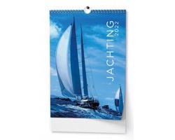 Nástěnný kalendář Jachting 2022