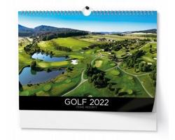 Nástěnný kalendář Golf 2022