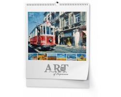 Nástěnný kalendář Art of impression 2020, 45x52cm