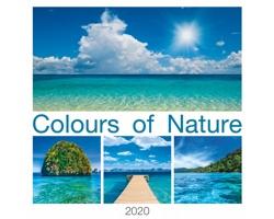 Nástěnný kalendář Colours of Nature 2020