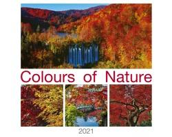 Nástěnný kalendář Colours od Nature 2021