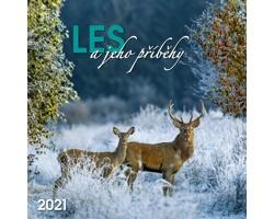 Nástěnný kalendář Les a jeho příběhy 2021