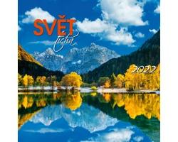 Nástěnný kalendář Svět ticha 2022