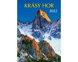 Nástěnný kalendář Krásy hor 2022