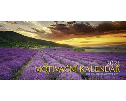 Stolní kalendář Motivační 2021