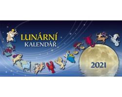 Stolní kalendář Lunární 2021