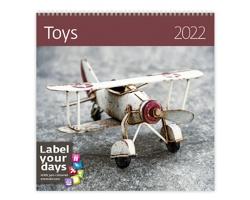 Nástěnný kalendář Toys 2022