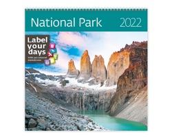 Nástěnný kalendář National Parks 2022