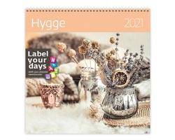 Nástěnný kalendář Hygge 2021