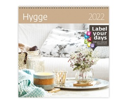 Nástěnný kalendář Hygge 2022