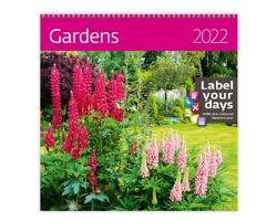 Nástěnný kalendář Gardens 2022