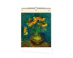 Luxusní dřevěný nástěnný kalendář Vincent 2020