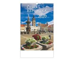 Nástěnný kalendář Česká republika / Czech Republic / Tschechische Republik 2020