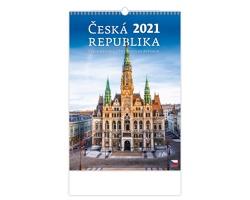 Nástěnný kalendář Česká republika/Czech Republic/Tschechische Republik 2021