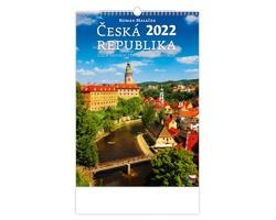 Nástěnný kalendář Česká republika/Czech Republic/Tschechische Republik 2022