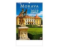 Nástěnný kalendář Morava/Moravia/Mähren 2022