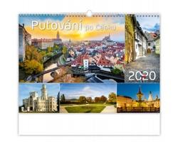 Nástěnný kalendář Putování po Česku 2020