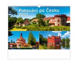 Nástěnný kalendář Putování po Česku 2022