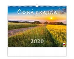 Nástěnný kalendář Česká krajina 2020