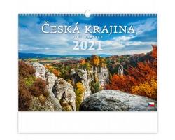 Nástěnný kalendář Česká krajina 2021