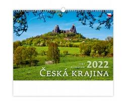 Nástěnný kalendář Česká krajina 2022