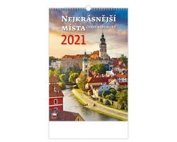 Nástěnný kalendář Nejkrásnější místa ČR 2021