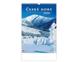 Nástěnný kalendář České hory 2020