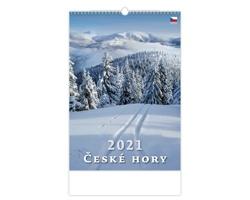 Nástěnný kalendář České hory 2021