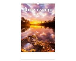 Nástěnný kalendář Řeka čaruje 2020