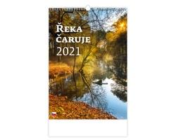 Nástěnný kalendář Řeka čaruje 2021