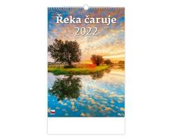 Nástěnný kalendář Řeka čaruje 2022