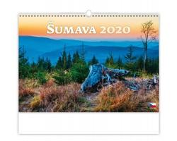 Nástěnný kalendář Šumava 2020