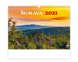 Nástěnný kalendář Šumava 2021