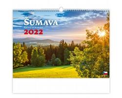 Nástěnný kalendář Šumava 2022