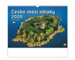 Nástěnný kalendář Česko mezi oblaky 2020