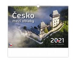 Nástěnný kalendář Česko mezi oblaky 2021
