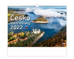 Nástěnný kalendář Česko mezi oblaky 2022