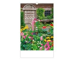 Nástěnný kalendář Květiny / Kvetiny 2020