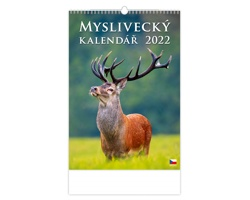 Nástěnný kalendář Myslivecký kalendář 2022