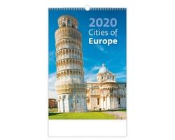 Nástěnný kalendář Cities of Europe 2020
