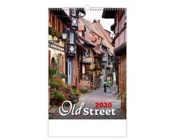 Nástěnný kalendář Old Street 2020
