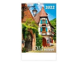 Nástěnný kalendář Old Street 2022