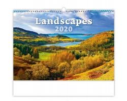 Nástěnný kalendář Landscapes 2020