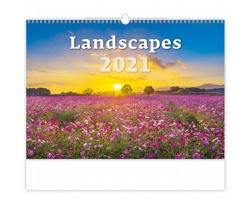 Nástěnný kalendář Landscapes 2021
