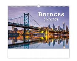 Nástěnný kalendář Bridges 2020