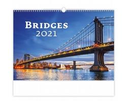 Nástěnný kalendář Bridges 2021