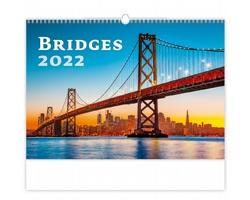 Nástěnný kalendář Bridges 2022