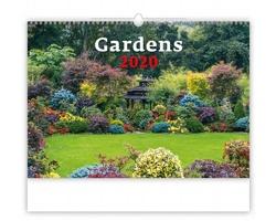 Nástěnný kalendář Gardens 2020