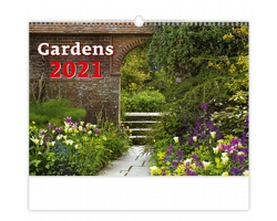 Nástěnný kalendář Gardens 2021